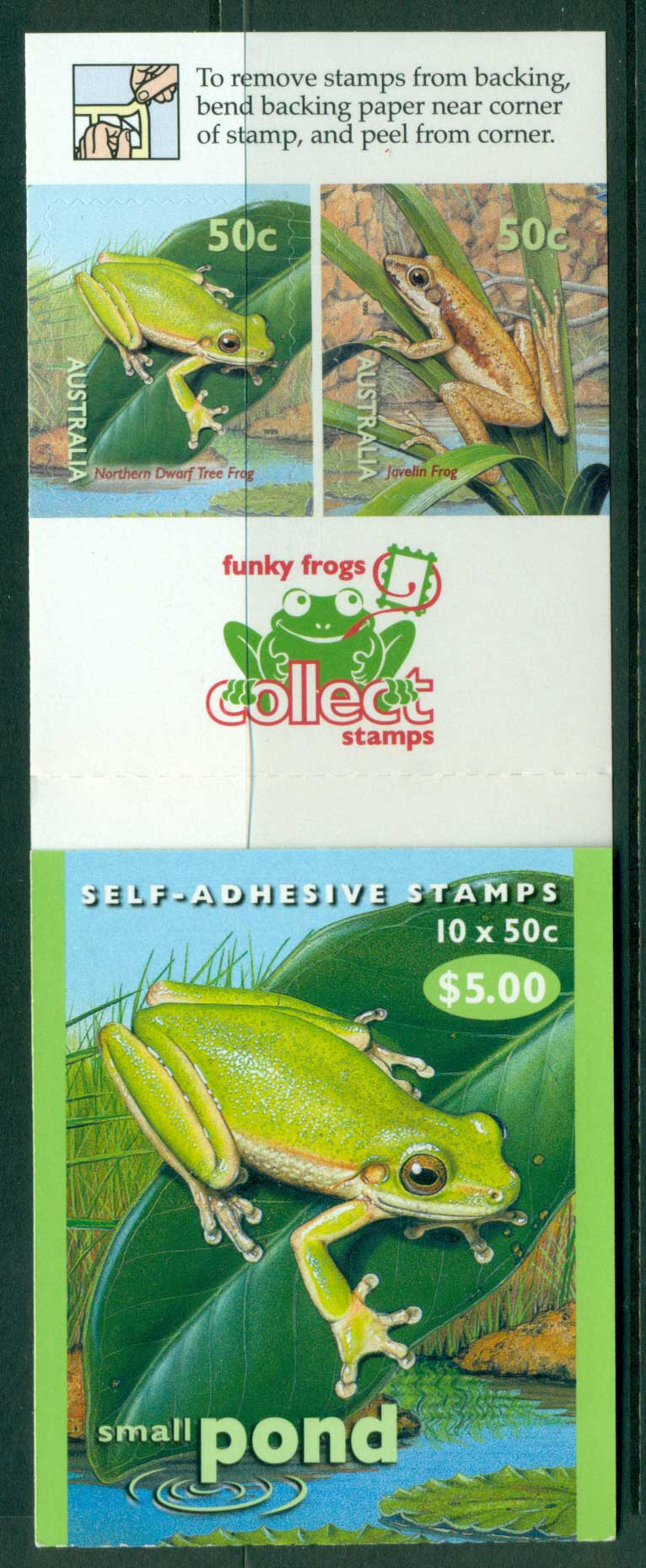 Australia 1999 $4.50 Small Pond B224 Philatelic Booklet Lot26057