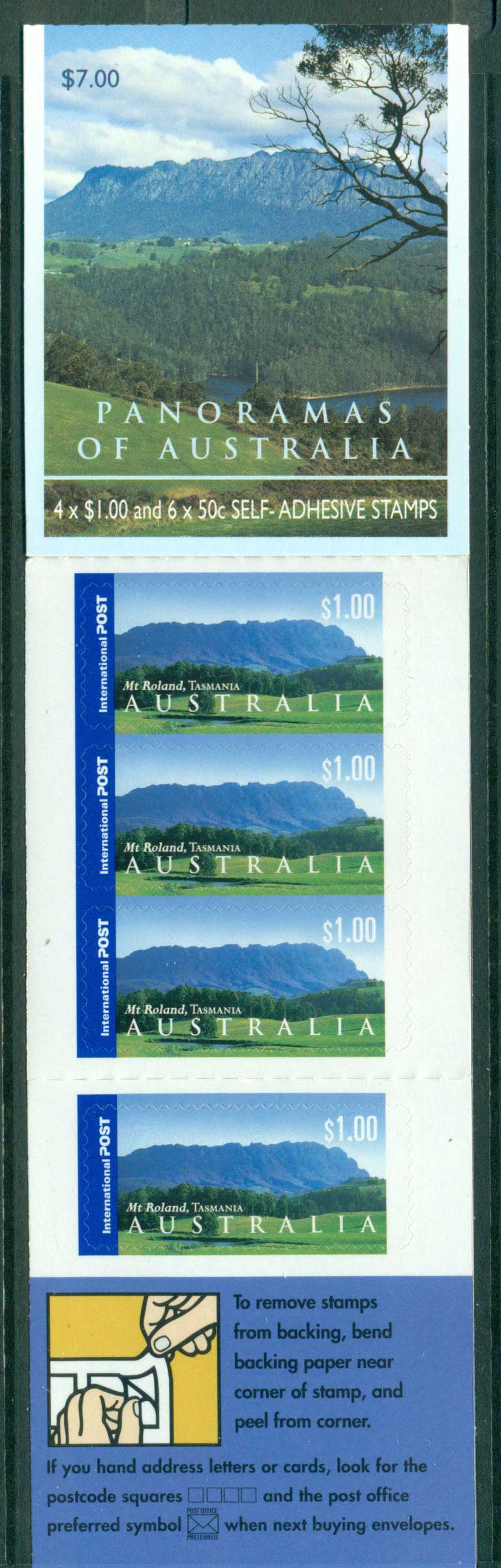 Australia 2002 $7.00 Panoramas B245 Philatelic Booklet Lot26088