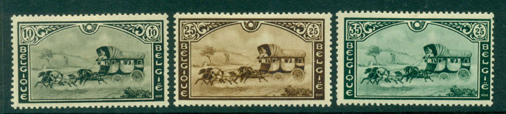 Belgium 1935 Stagecoach MH Lot27202