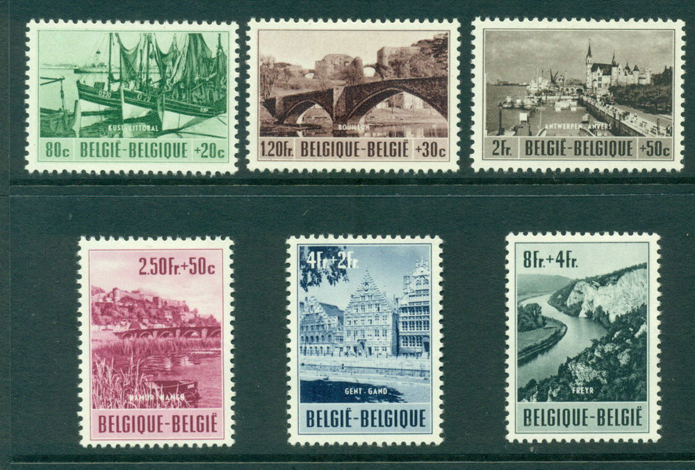 Belgium 1953 Ardenne-Meuse Tourism MH Lot27303