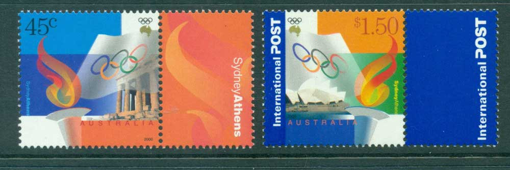 Australia 2000 Sydney Athens Joint Issue MUH Lot27333