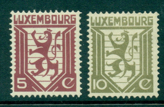 Luxembourg 1930 Coat of Arms MH Lot27426