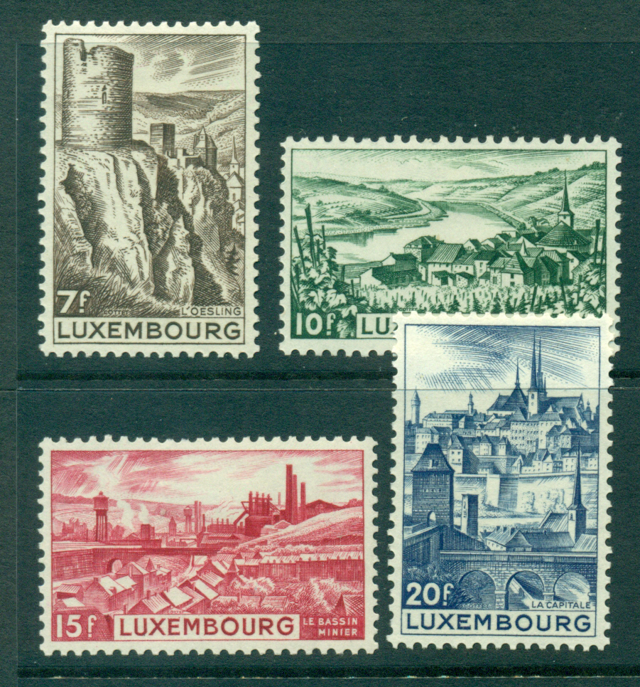 Luxembourg 1948 Views MH Lot27478