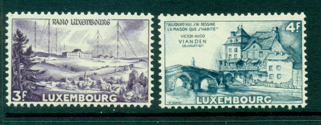 Luxembourg 1953 Victor Hugo MLH Lot27493