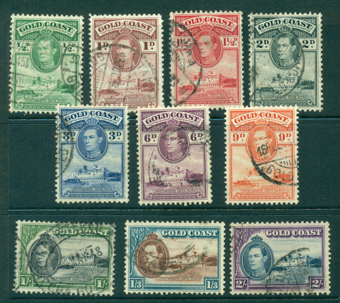 Gold Coast 1938-41 Asst FU Lot27541
