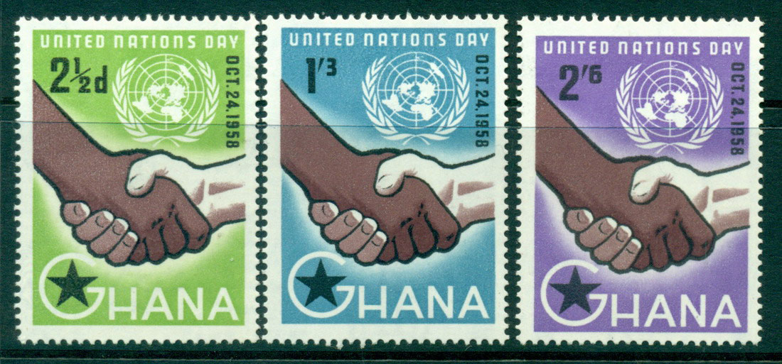 Ghana 1958 United Nations Day MH Lot27558