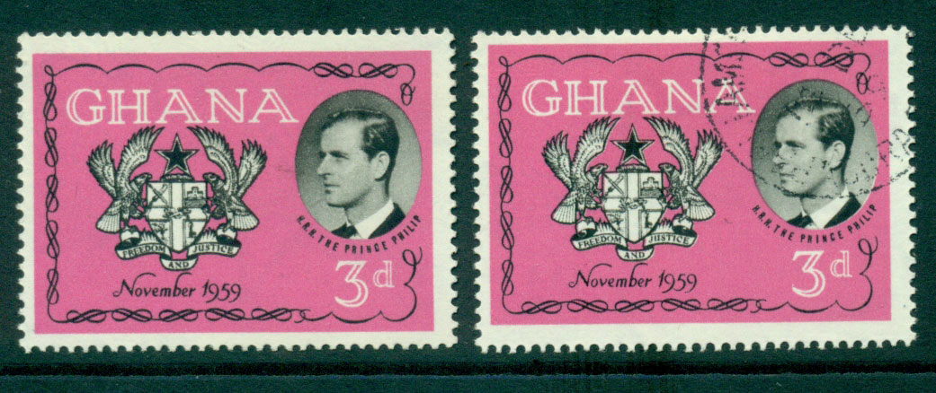 Ghana 1959 Royal Visit Prince Phillip MUH/FU Lot27568
