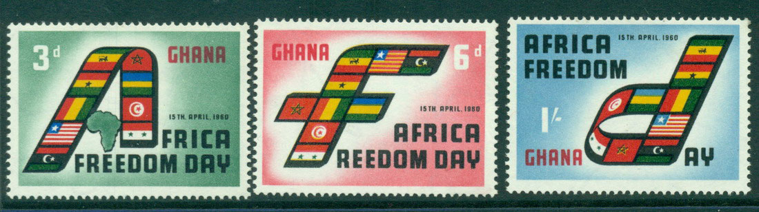 Ghana 1960 Freedom Day MLH Lot27569