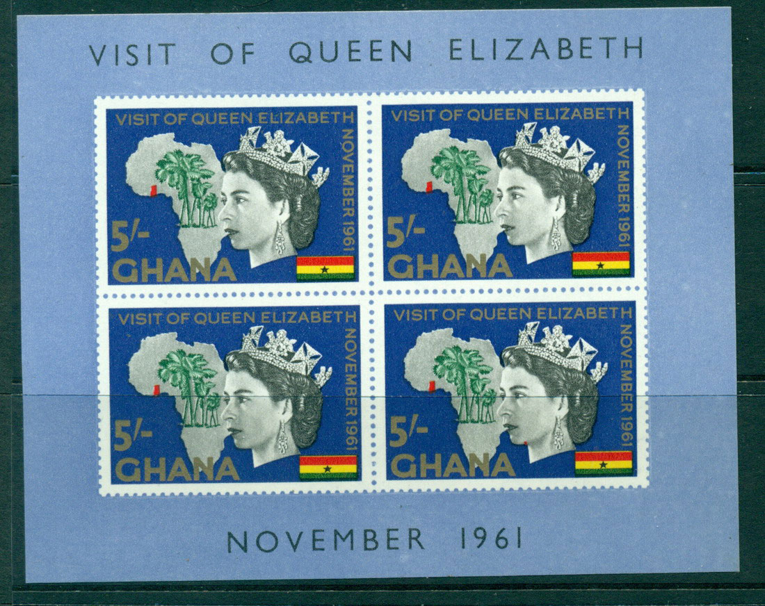 Ghana 1961 Royal Visit QEII MS MLH Lot27588