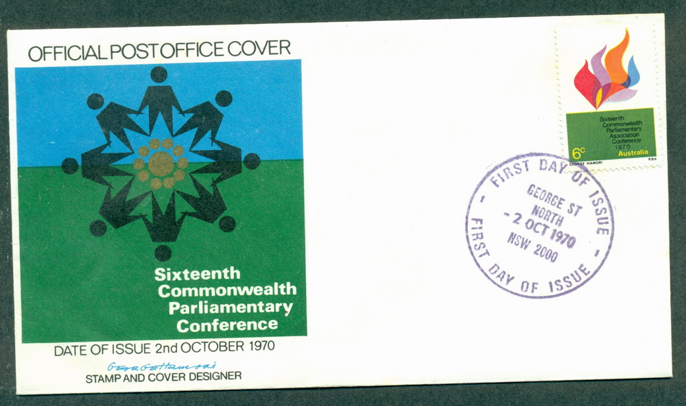 Australia 1970 Parliamentary Conf People (lt tones) FDC Lot27751