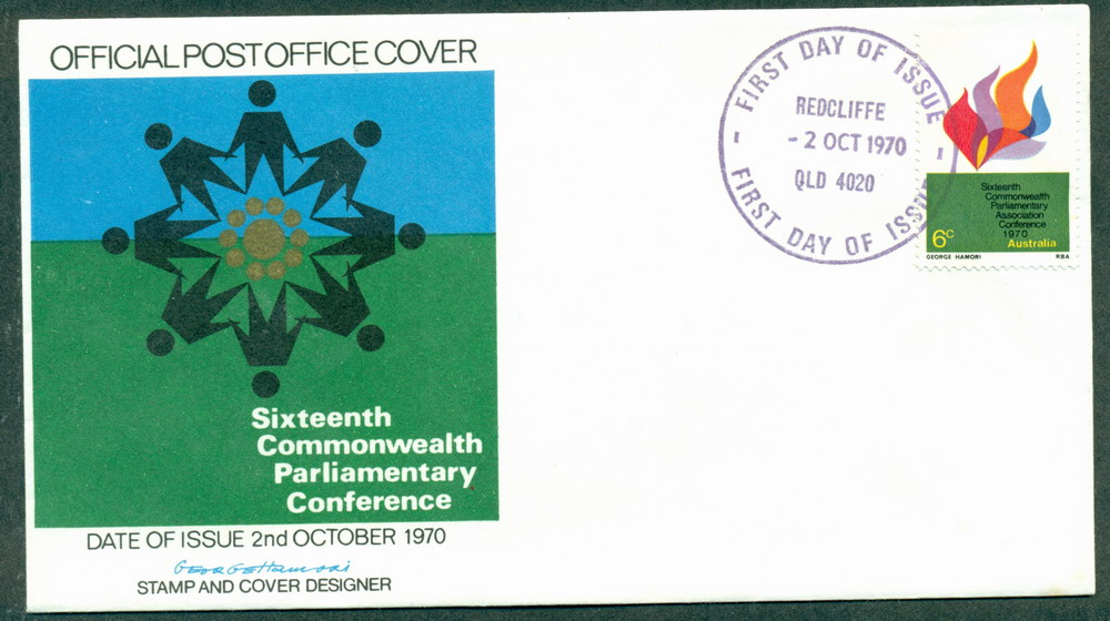 Australia 1970 Parliamentary Conf People FDC Lot27753