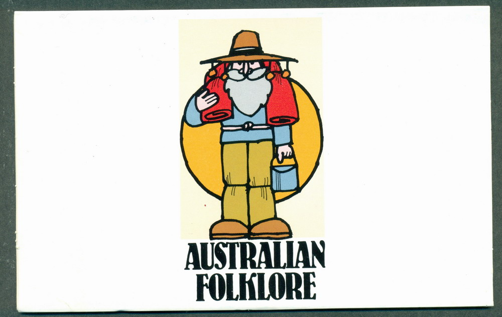 Australia 1980 Australian Folklore POP Lot27849