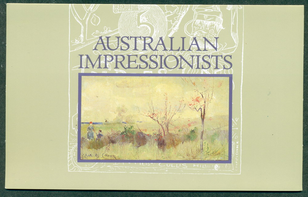 Australia 1980 Australian Impressionists POP Lot27862