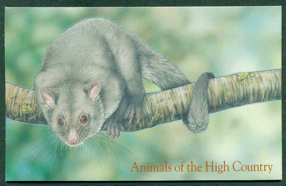 Australia 1990 Animals of the High Country POP Lot27911