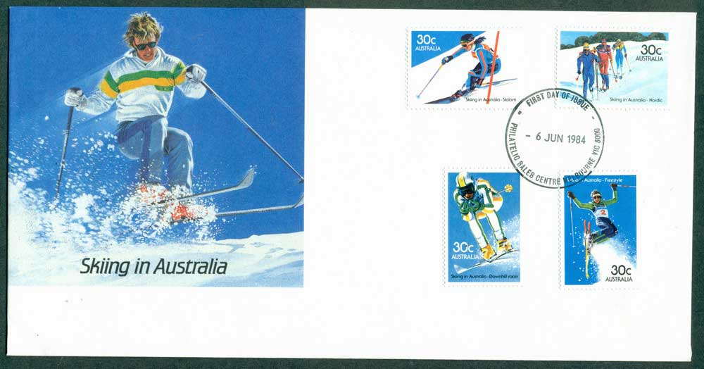 Australia 1984 Skiing in Australia FDC Lot27945