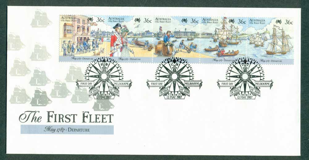 Australia 1987 First Fleet- Rio FDC Lot27975