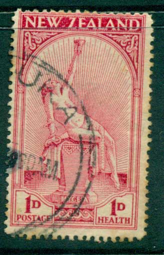 New Zealand 1932 Health (lt tones) FU Lot28485
