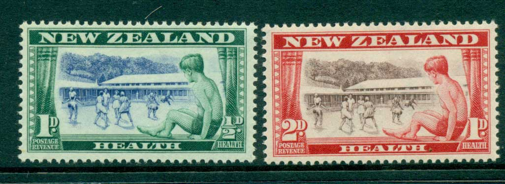 New Zealand 1949 Health MH Lot28501