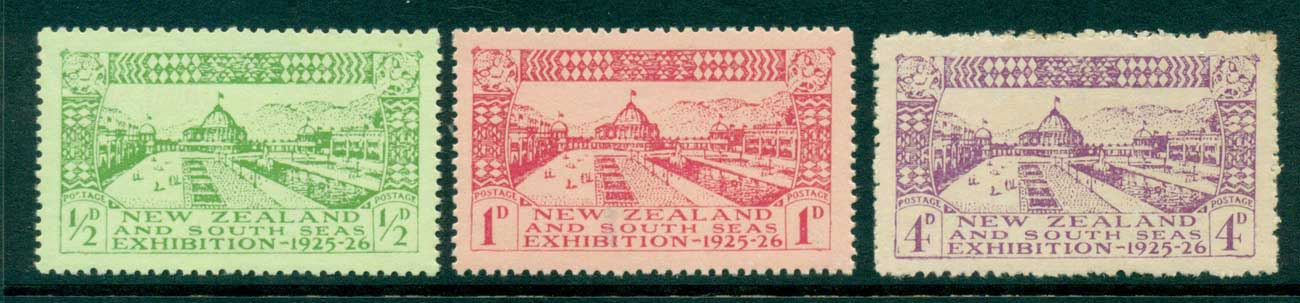 New Zealand 1925 Dunedin Exhibition MUH/MH (4d) Lot28525