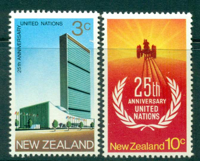 New Zealand 1970 UH MUH Lot28582