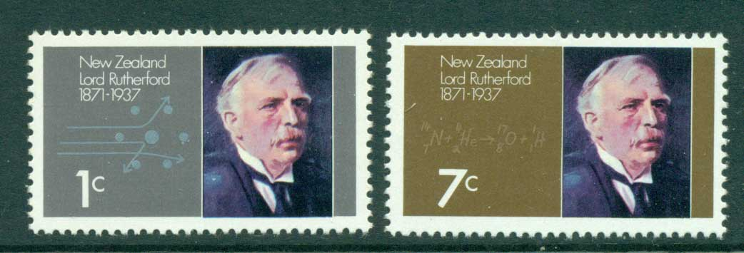 New Zealand 1971 Lord Rutherford MUH Lot28595