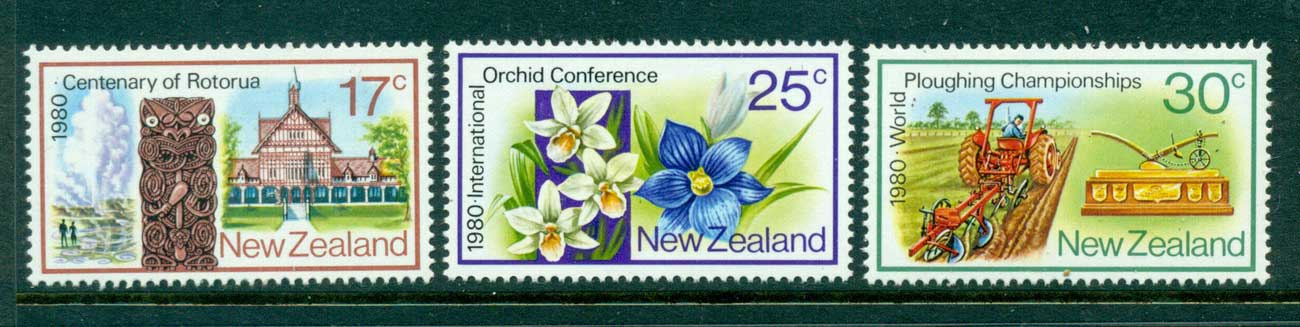 New Zealand 1980 Anniversaries MUH Lot28640
