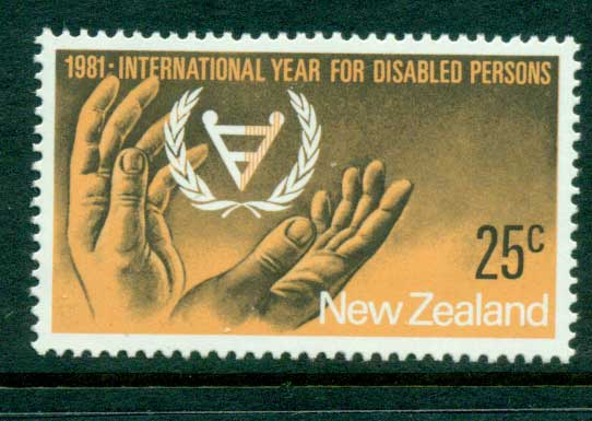 New Zealand 1981 IYD MUH Lot28647