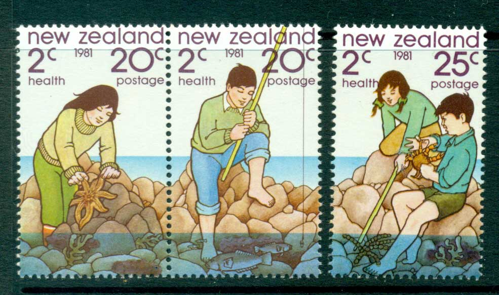 New Zealand 1981 Health MUH Lot28708