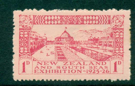 New Zealand 1925 1d Dunedin Exhibition (hinge thin) MH Lot28724