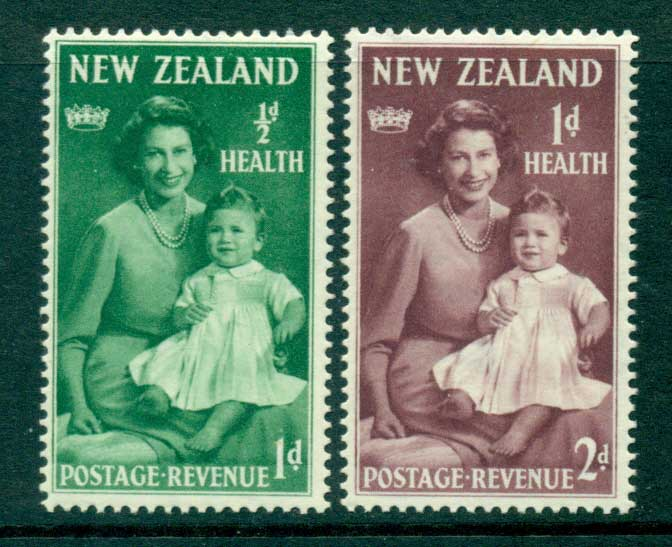 New Zealand 1950 Health MLH Lot28750