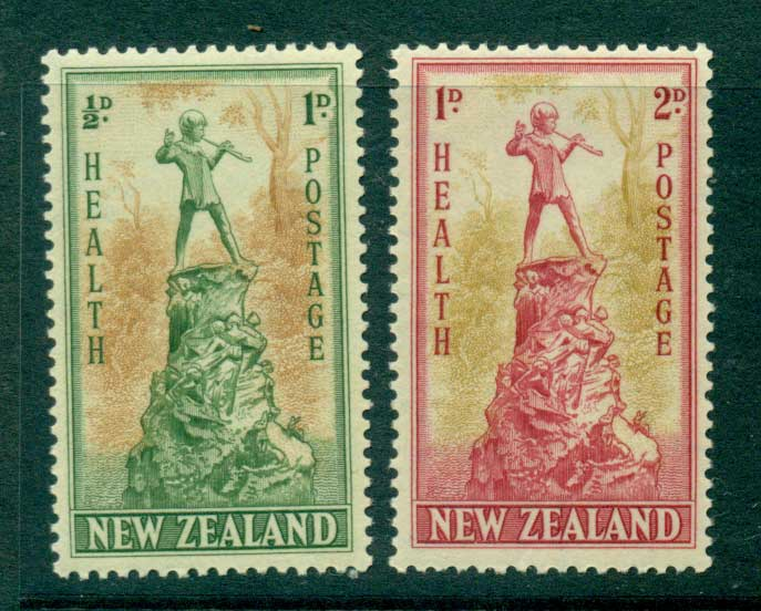 New Zealand 1945 Health MUH Lot28759