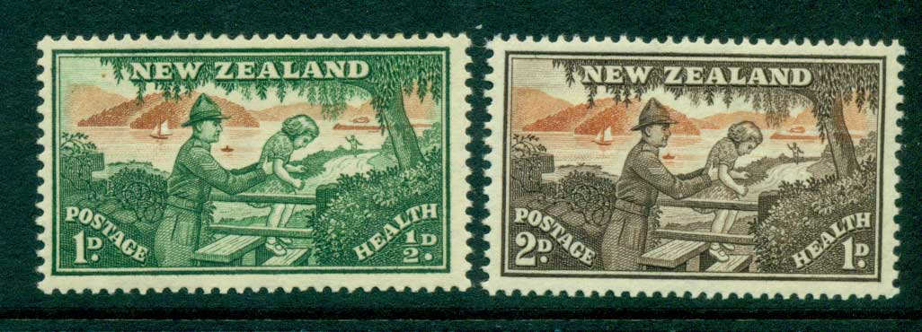 New Zealand 1946 Health MUH Lot28760