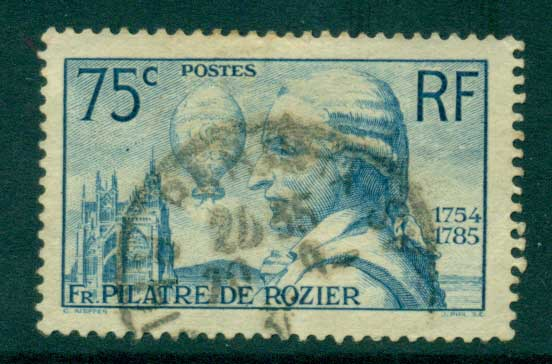 France 1936 Rozier & Balloon FU Lot28802
