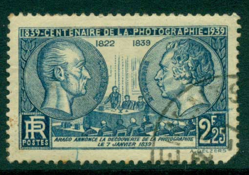 France 1939 Cent. Of Photography (short cnr) FU Lot28823