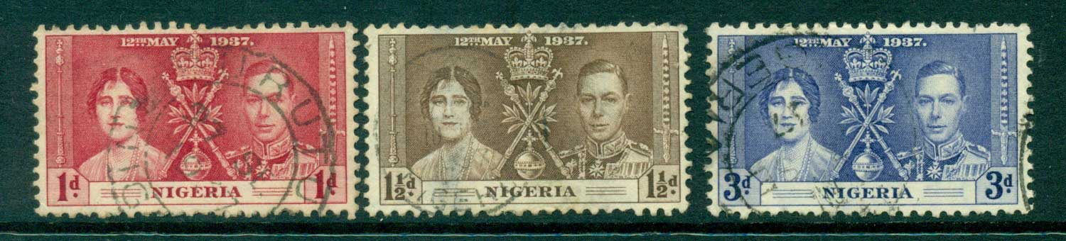 Nigeria 1937 Coronation FU Lot29279