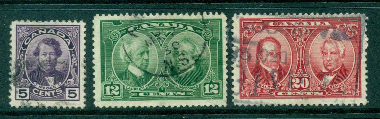 Canada 1927 Famous men FU Lot29290