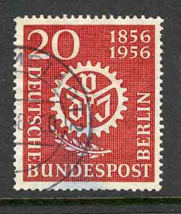 Germany Berlin 1956 20pf Engineers FU lot2953