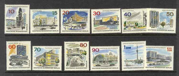 Germany Berlin 1965 The New Berlin MUH lot2957
