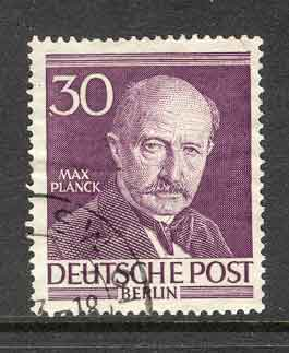 Germany Berlin 1953 Max Planck FU lot2958
