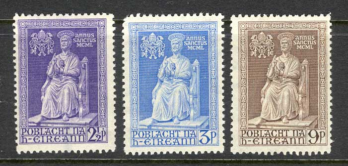 Ireland 1950 Holy Year (2 1/2d Thin) MH lot3252
