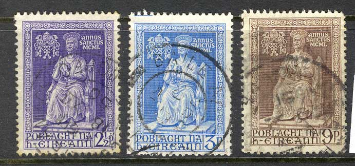Ireland 1950 Holy Year FU lot3260