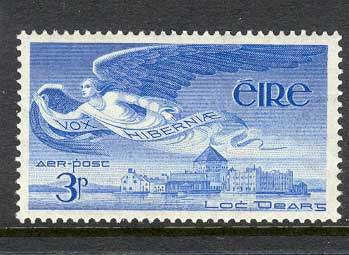 Ireland 1948 3d Air Angel MLH lot3263