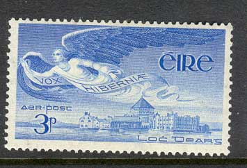 Ireland 1948 3d Air Angel MUH lot3264