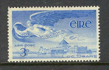 Ireland 1948 3d Air Angel MH lot3265