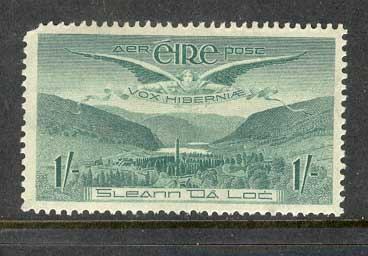 Ireland 1948 1/- Air Angel MH lot3268