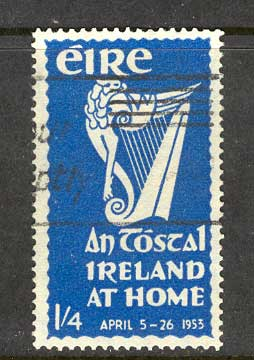 Ireland 1953 1/4d National Festival FU lot3274