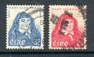 Ireland 1958 Mary Aitkenhead FU lot3288