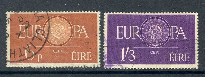 Ireland 1960 Europa FU lot3295