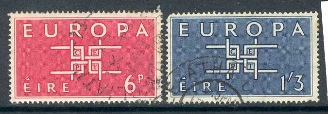 Ireland 1963 Europa FU lot3301