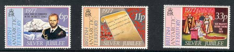 BAT 1977 Silver Jubilee MUH lot3330